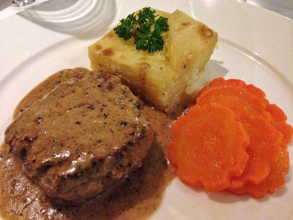 1. pepper steak