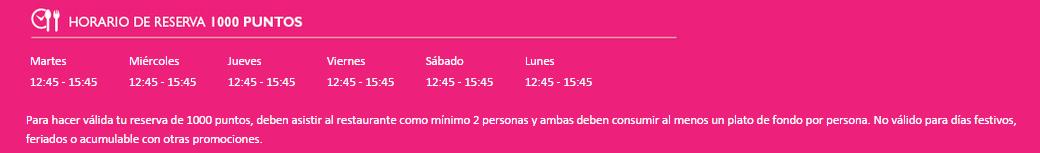 horario 1000 pts mayta