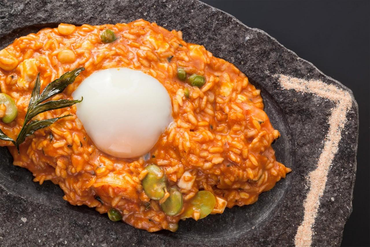 risotto de chupe