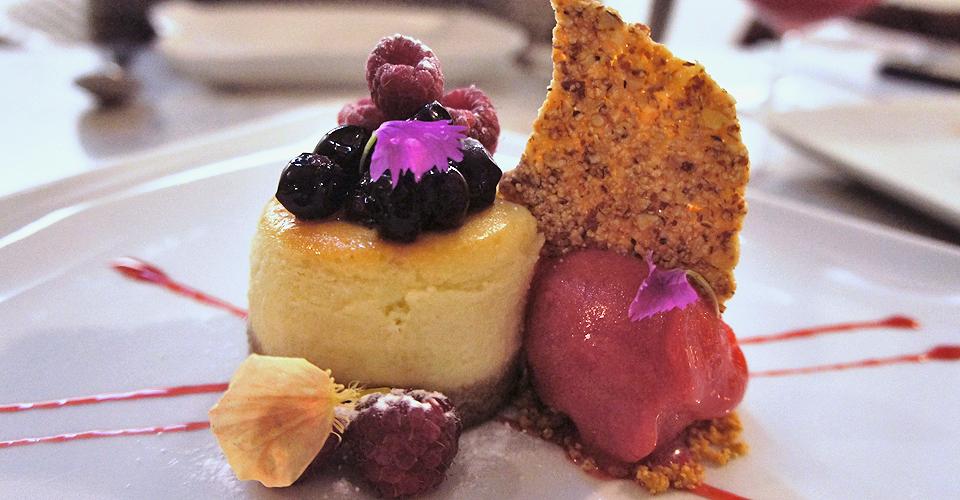 3. cheesecake