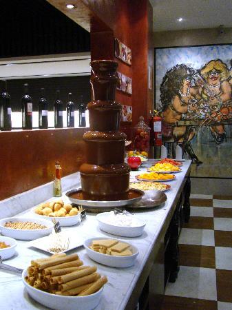 bistecca fuente-de-chocolate