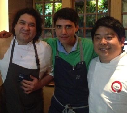 Gastón Acurio, Virgilio Martinez y Mitsuharu Tsumura