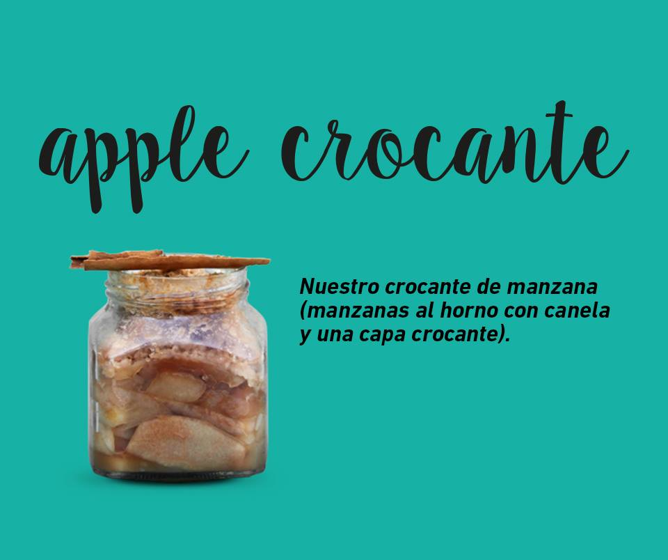 apple crocante