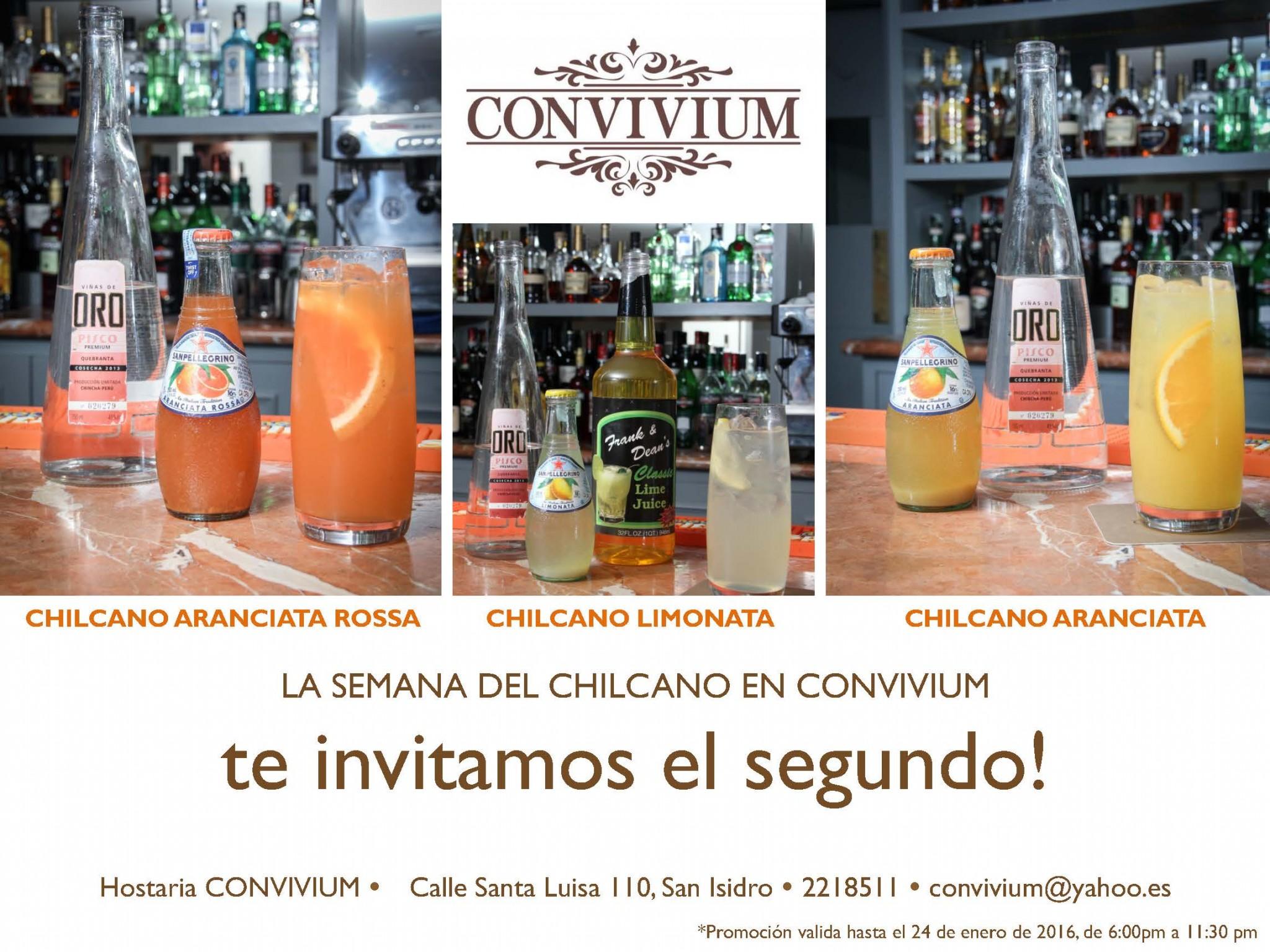 Semana del Chilcano_CONVIVIUM