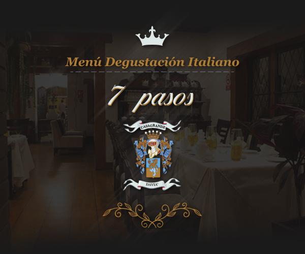 Men degustaci n italiano mesa 24 7 - Menu degustacion casa juan ...